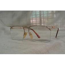 แว่นสายตายาววินเทจโกลด์ฟิลด์สองกษัตริย์  Champs Elysees Paris handmade in France  ค่าสายตาบวกหนึ่งร้อยเจ็ดสิบห้า